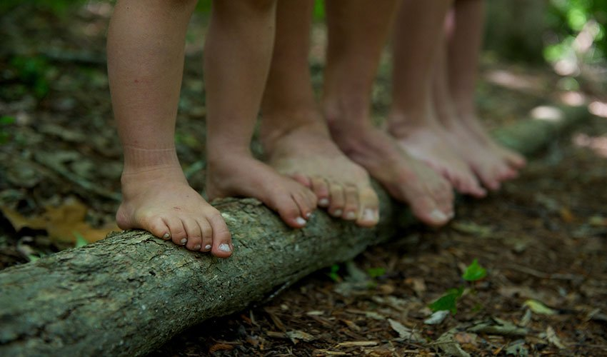Seven Reasons To Barefoot Run